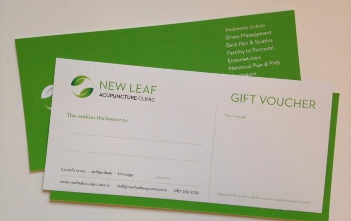 Gift Vouchers – the gift of good health!
