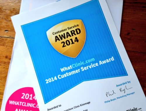 Delighted to have won the 2014 Customer Service Award